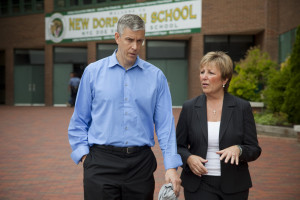 U.S. Secretary of Education Arne Duncan visits New Dorp High School in Staten Island, NY on Friday, June 5, 2015.Photo by Andy Kropa for the U.S. Department of Education