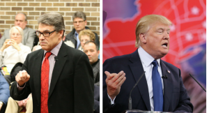 Rick Perry and Donald Trump... Fight!Photo credit: Dave Davidson (Prezography.com)