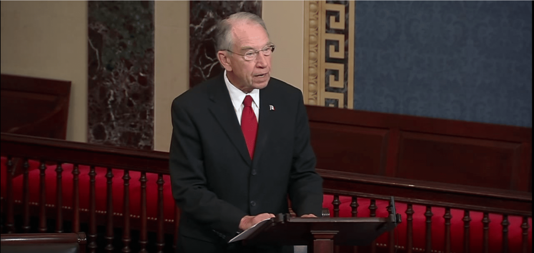Grassley iran deal should be rejected caffeinated thoughts for Chuck s hardwood flooring