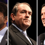 Less Than 48 Hours Away! Jindal, Huckabee & Santorum at #CTBriefing2015