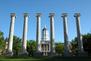Jesse Hall, University of Missouri, ColumbiaPhoto credit: Adam Proctor (CC-By-3.0)