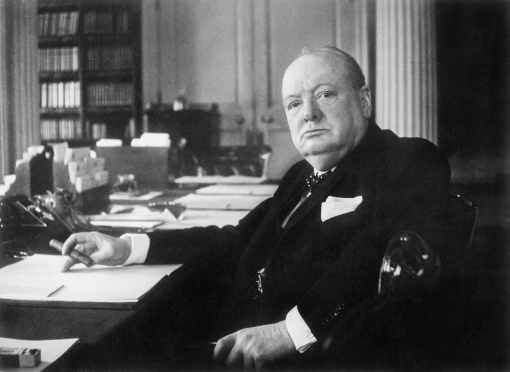 Study released on what would be Winston Churchill's 140th birthday.