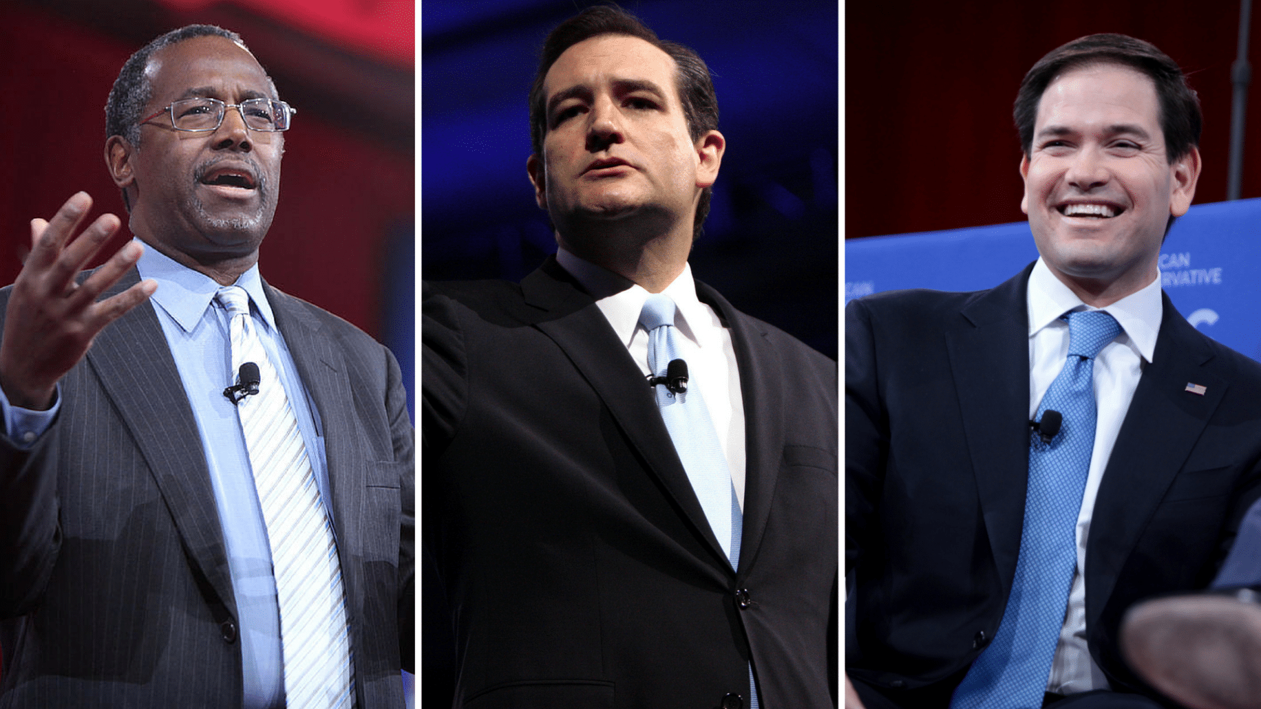 Ben Carson, Ted Cruz, Marco Rubio have pledged to support First Amendment Defense Act in their first 100 days. Photo credit: Gage Skidmore (CC-By-SA 2.0)