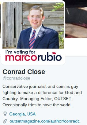 Conrad-Close-Twitter-Profile