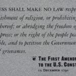 Defending the First Amendment