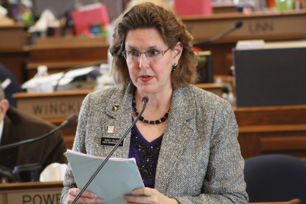 State Representative Sandy Salmon (R-Janesville)Photo credit: Iowa House Republicans