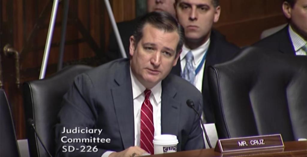 Ted Cruz questioning Jeh Johnson