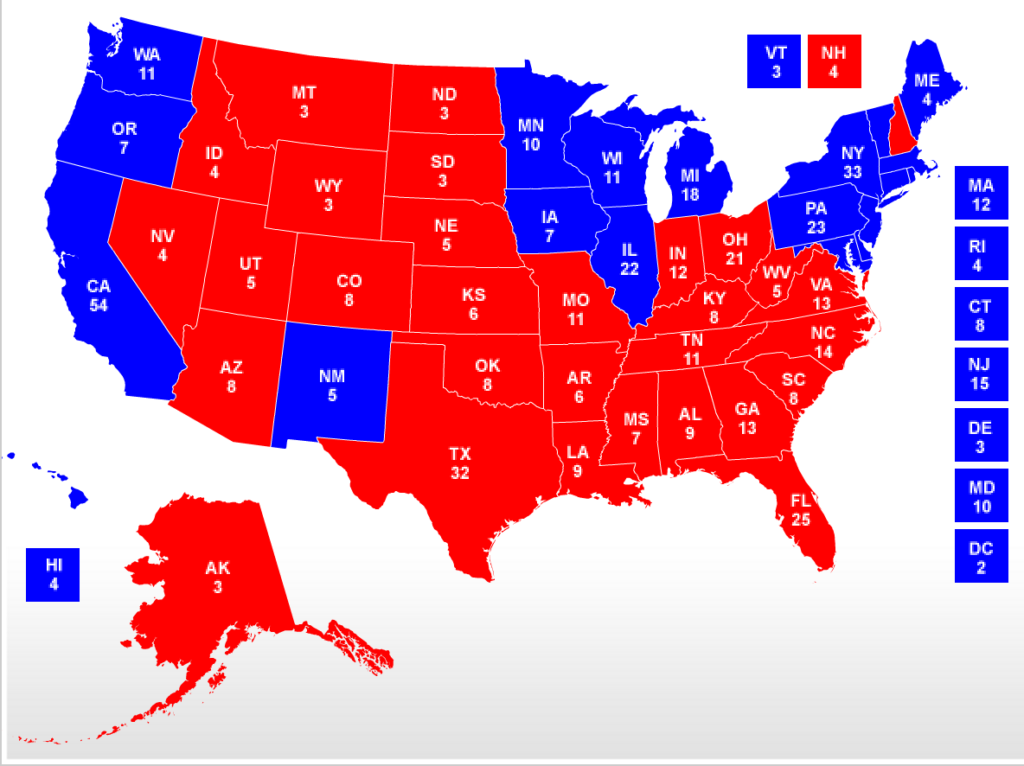 The Electoral Map Now Looks Even Worse for Trump ...