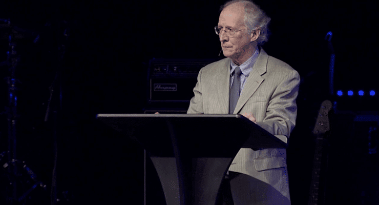 John Piper preaching in Atlanta