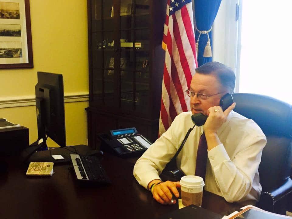 Photo courtesy of Congressman Rod Blum's office.