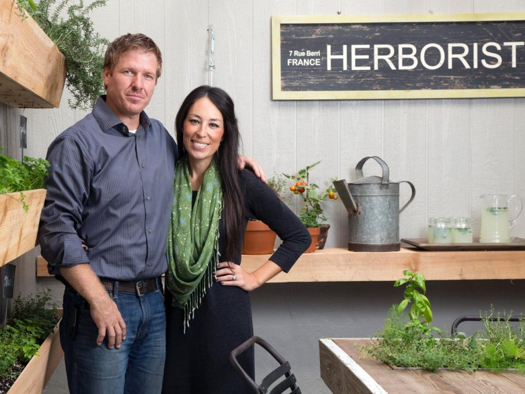 "Chip and Joanna Gaines of ""Fixer Upper"" on HGTV"