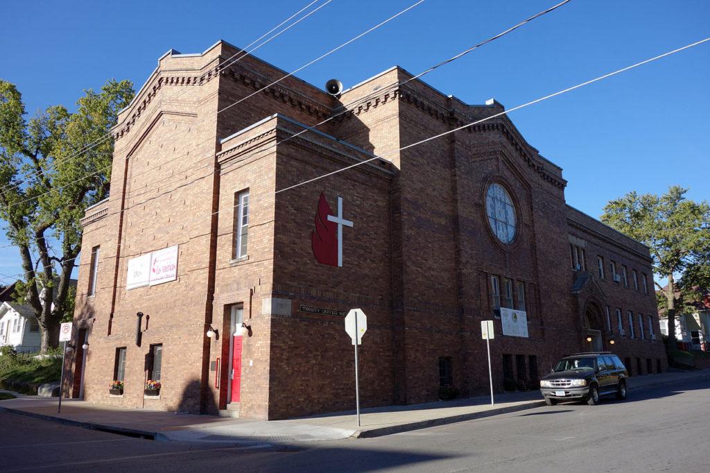 Trinity United Methodist Church in Des Moines, IA. Photo credit: C.A. Tucker