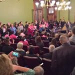 Iowa Bill Defunding Abortion Providers Advances to Full Senate