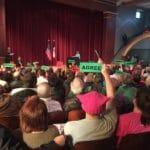 Joni Ernst Faces Hostile Crowd in Des Moines