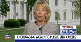 """Betsy DeVos: """"There Isn't Really Any Common Core Anymore."""" Wrong."""