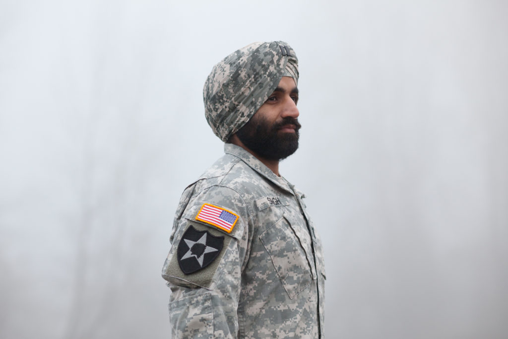 """Decorated Army Captain Simratpal """"Simmer"""" Singh is a devout Sikh who has finally prevailed against a three-decade ban preventing observant Sikhs from serving in the U.S. Army."""